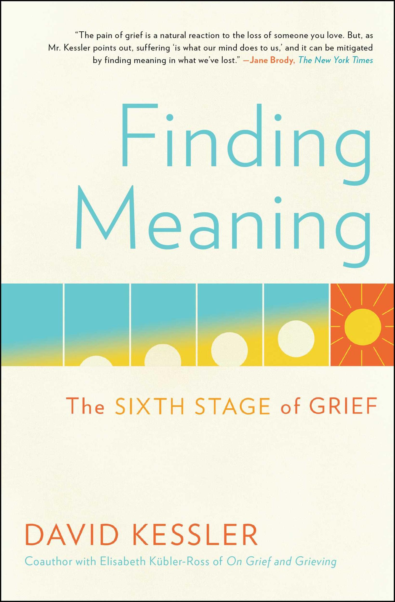 Finding Meaning eftir David Kessler er áhugaverð bók og skrifuð …
