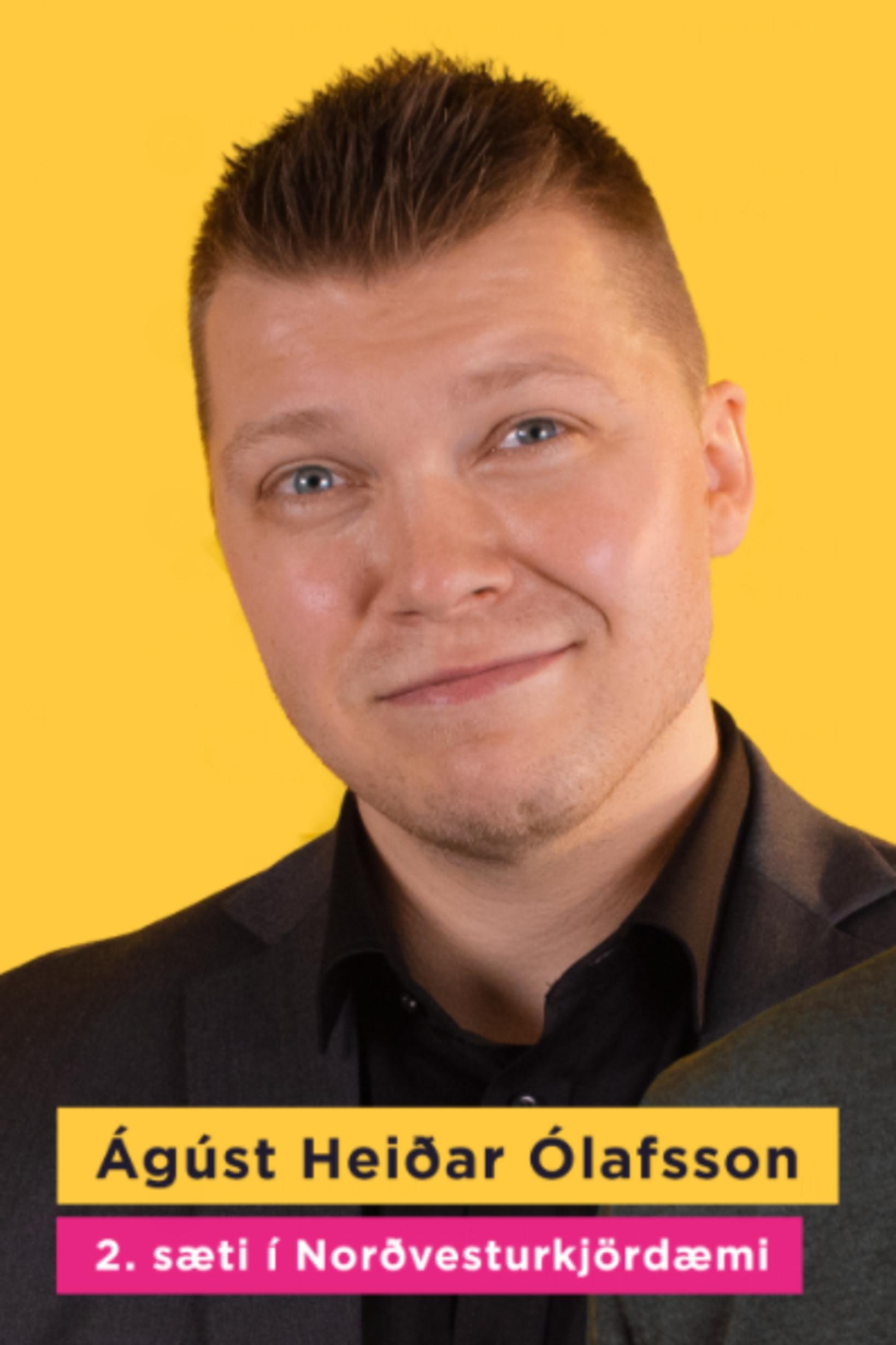 Ágúst Heiðar Ólafsson.