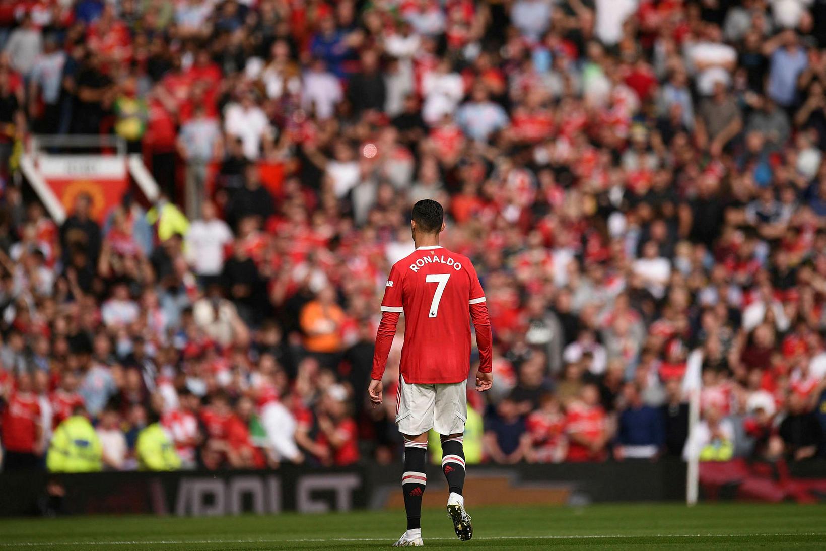 Cristiano Ronaldo er mættur aftur á Old Trafford.