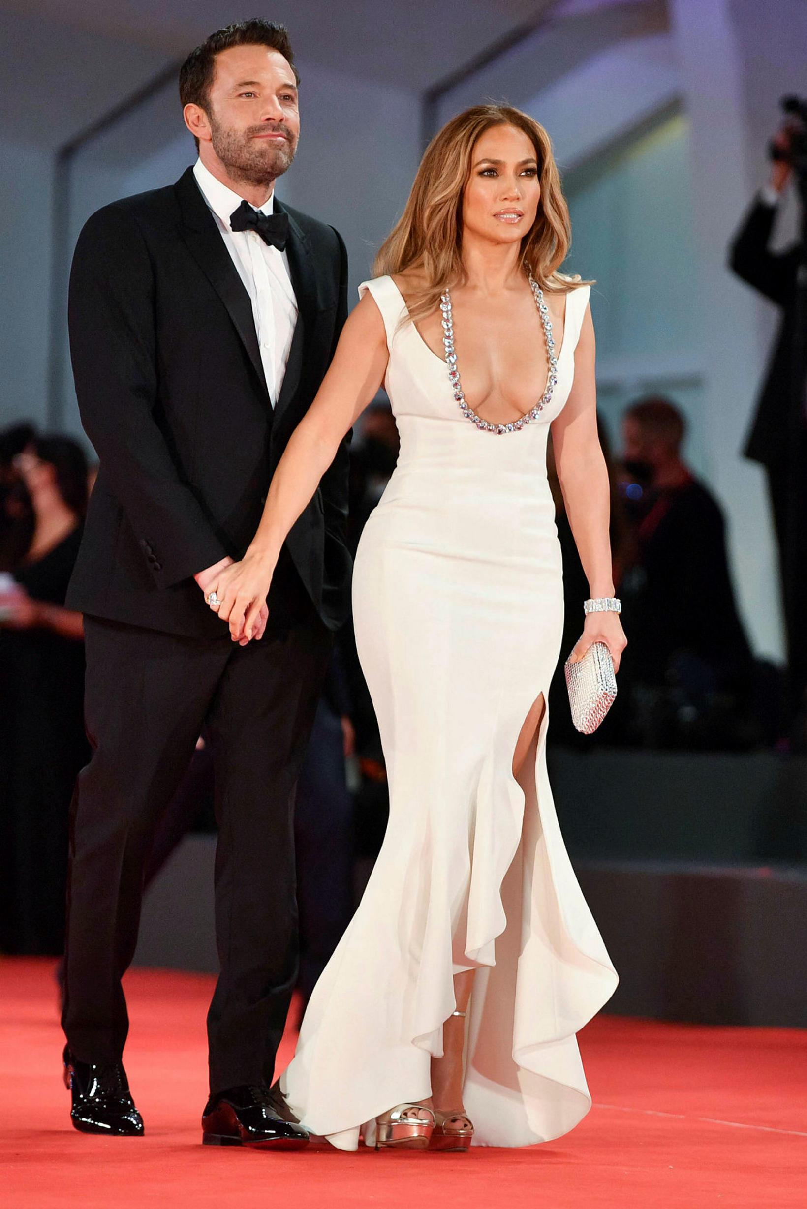 Jennifer Lopez og Ben Affleck.