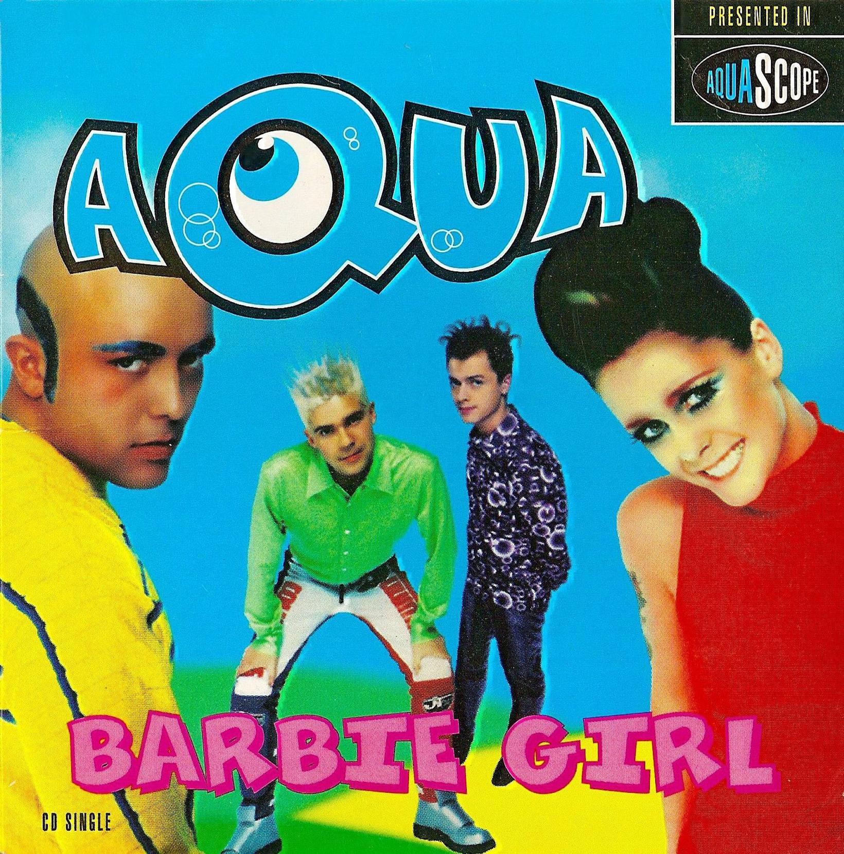 Lagið Barbie Girl er ógleymanlegur hittari.