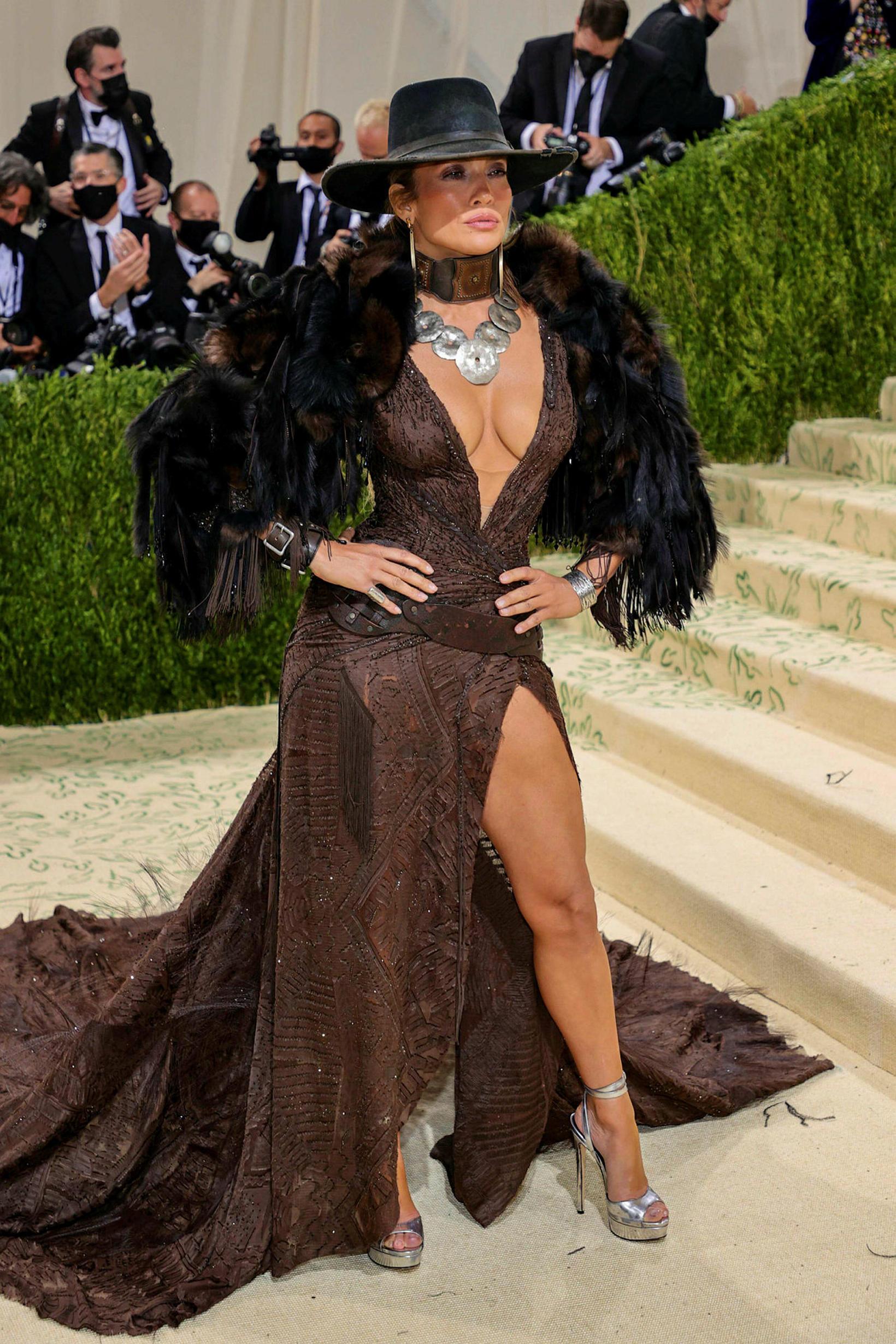 Jennifer Lopez í Ralph Lauren.