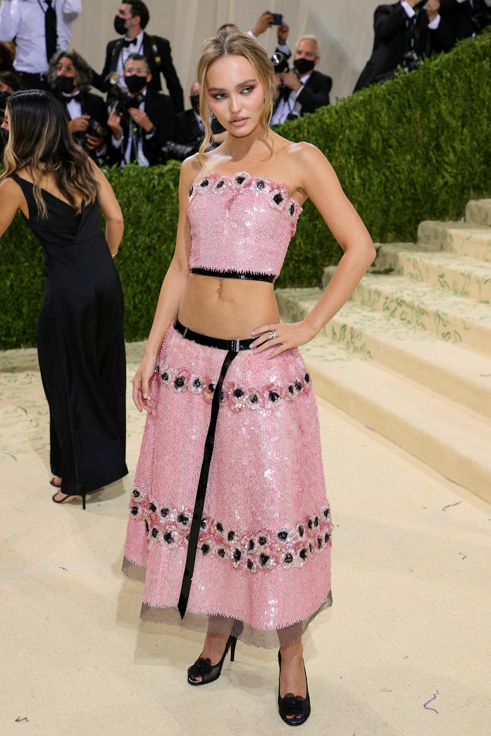 Lily-Rose Depp í Chanel.