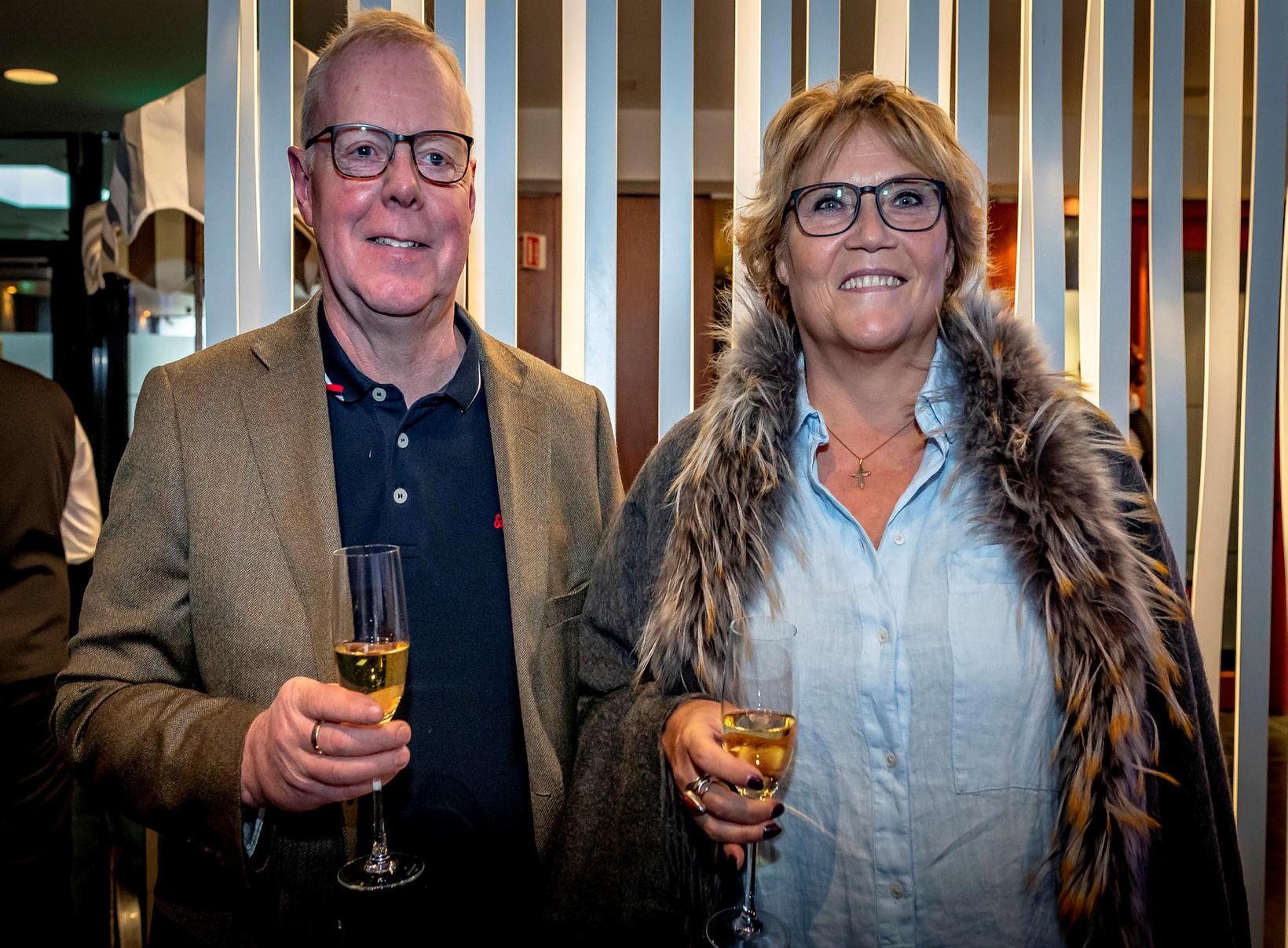 Auðunn Ásberg Gunnarsson og Sólbjörg Linda Reynisdóttir.