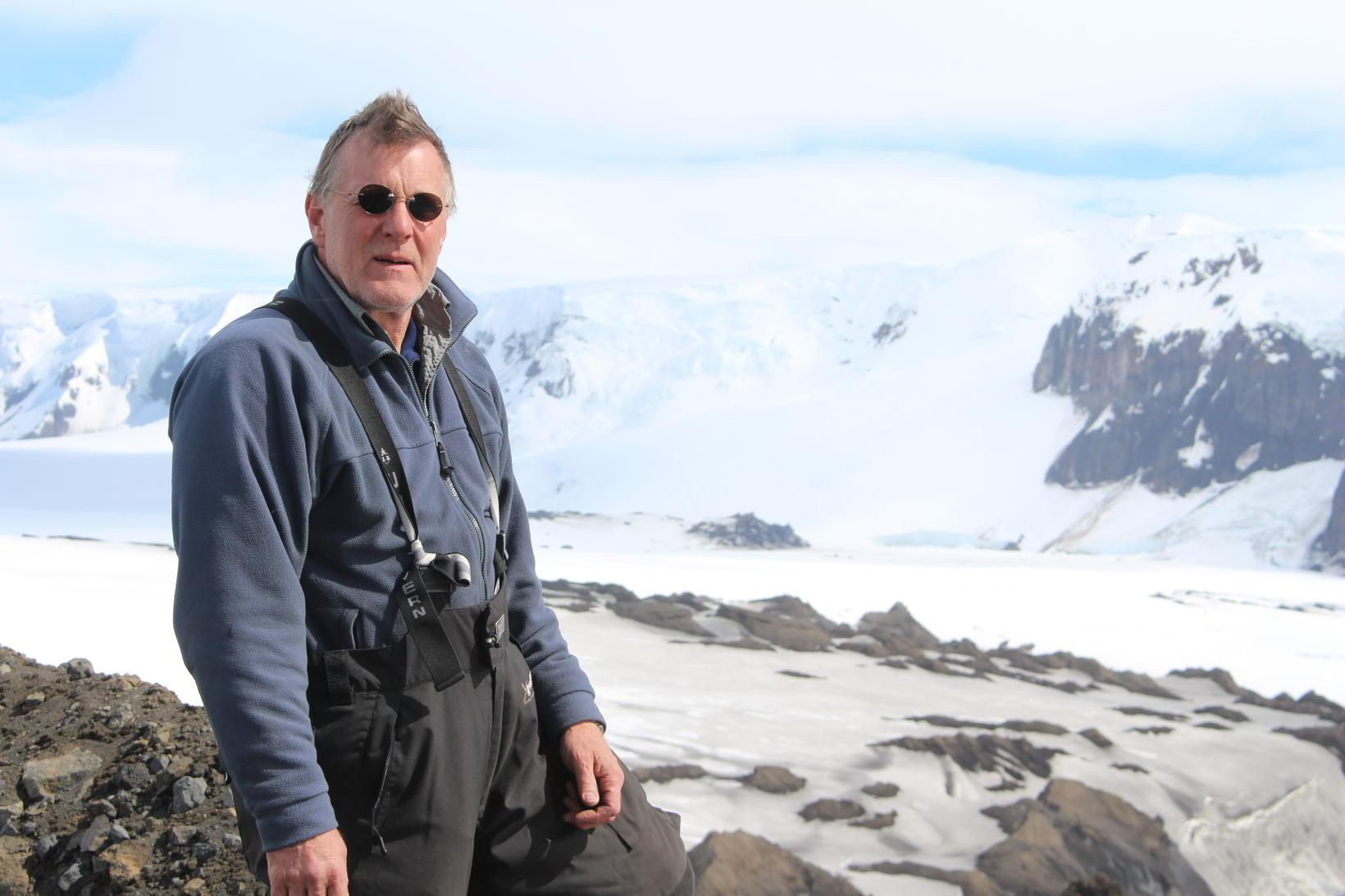 Finnur Pálsson, verkefnastjóri jöklarannsókna við Jarðfræðistofnun Háskóla Íslands.