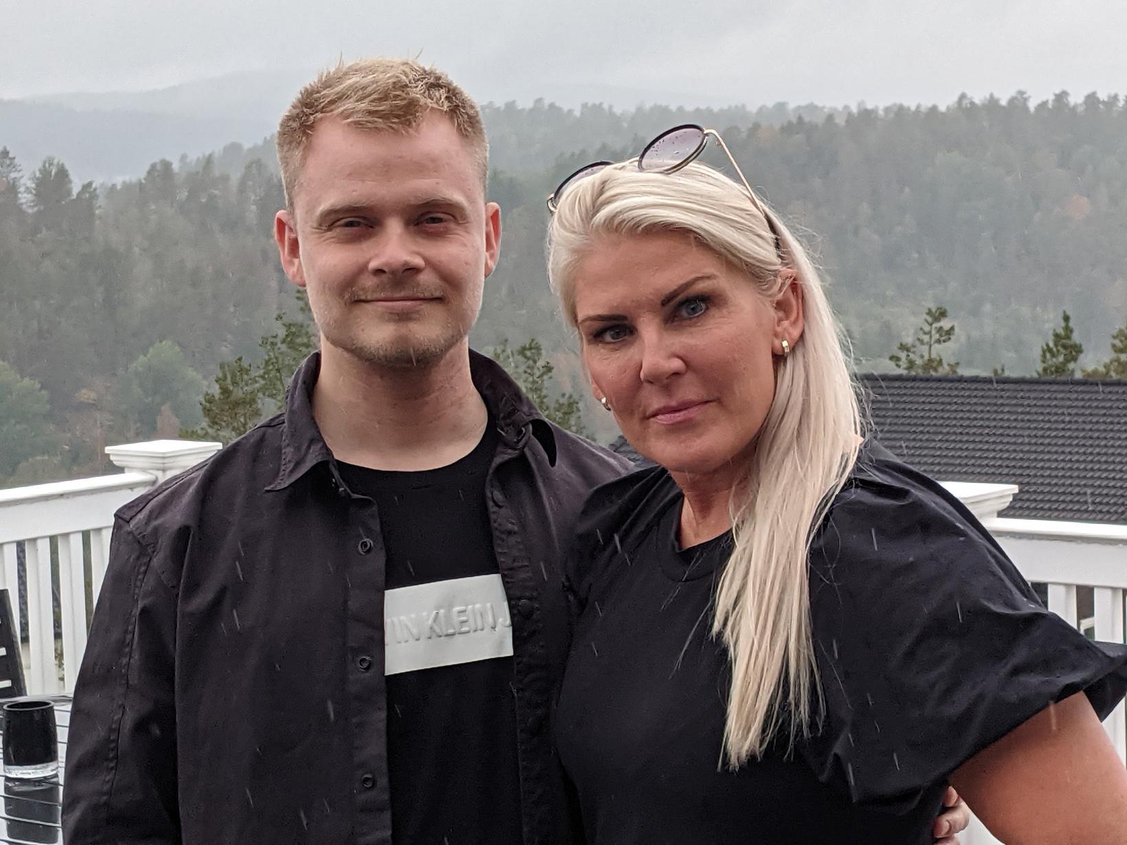 Mamma er best. Sólrún Margrét Stefánsdóttir með frumkvöðlinum sínum. Sólrún …
