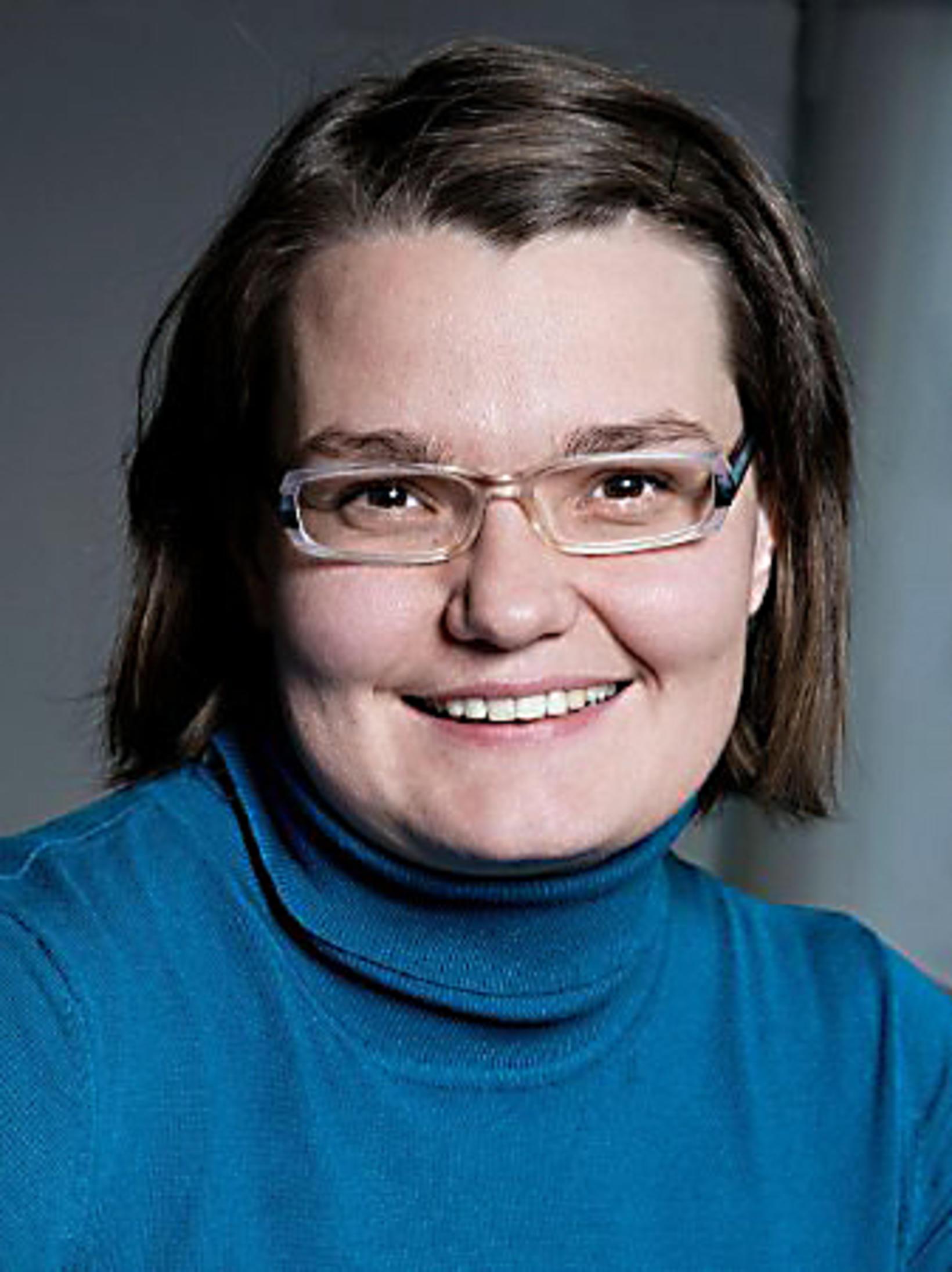 Anna Sigríður Halldórsdóttir.