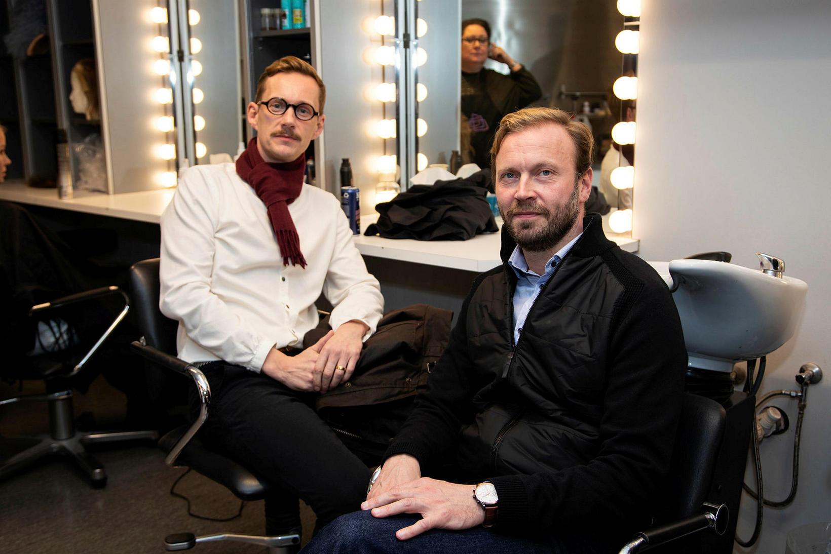 Jörundur Ragnarsson og Sveinn Ólafur Gunnarsson.