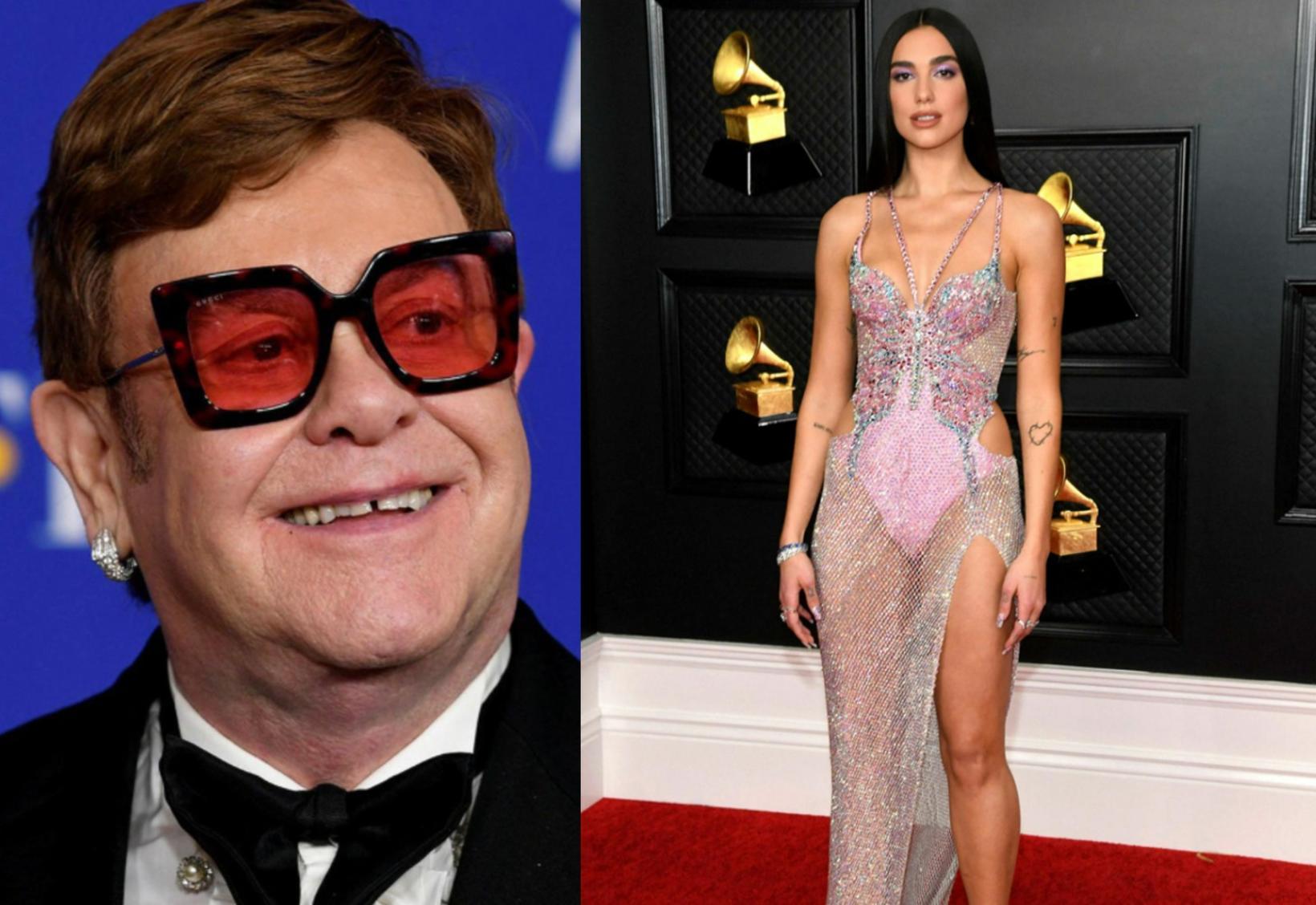 Elton John og Dua Lipa sameinuðu krafta sína í laginu …