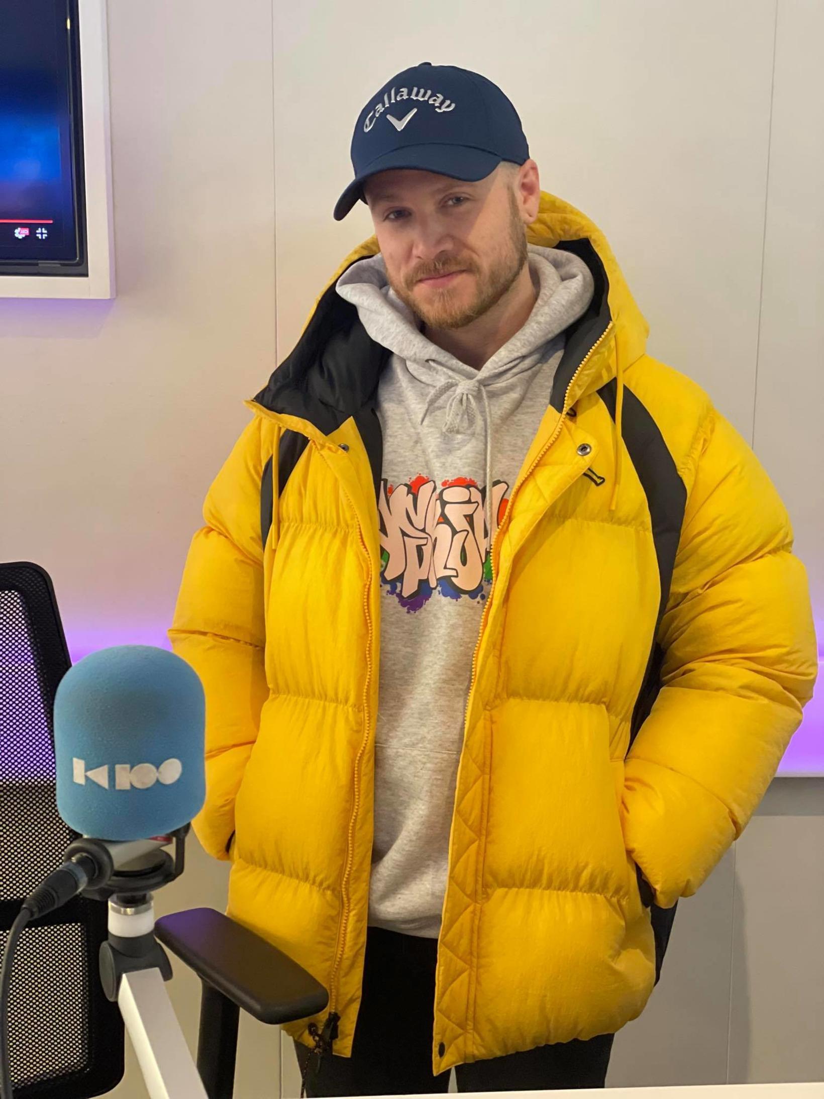 Emmsjé Gauti mætti í Ísland vaknar á K100 í morgun.