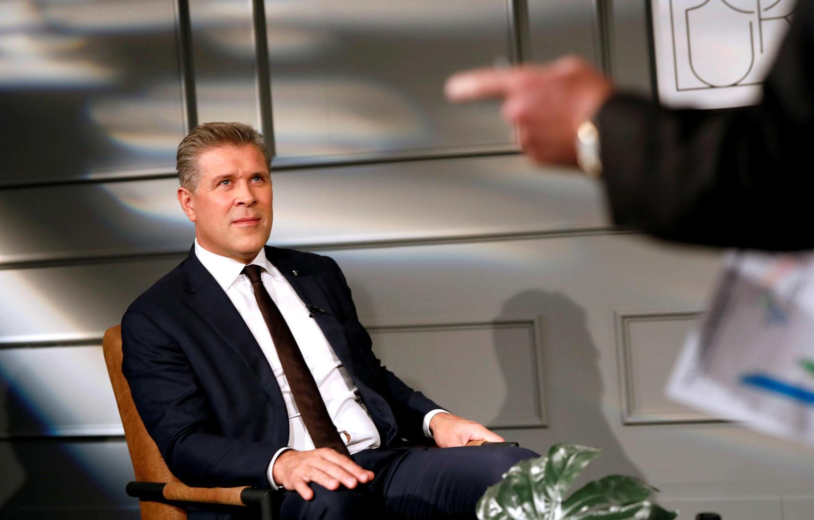 Bjarni Benediktsson situr fyrir svörum í Dagmálum í dag.