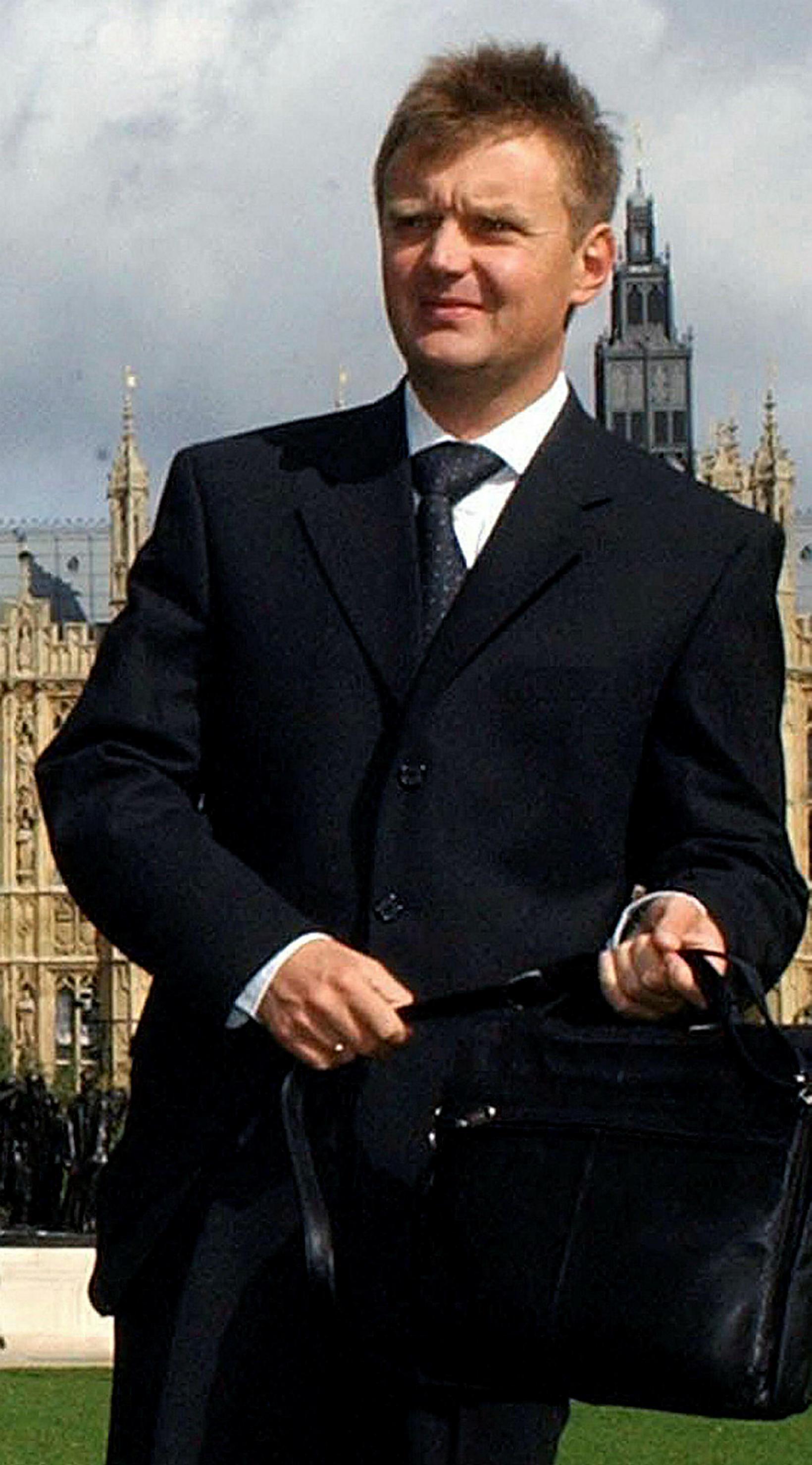 Alexander Litvinenko árið 2004.