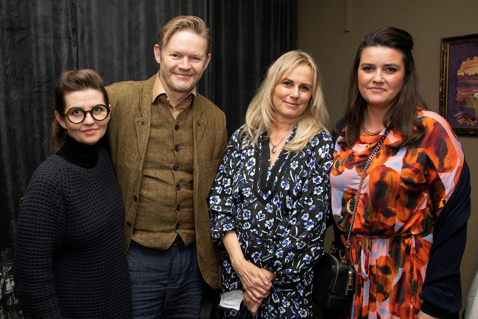 Hlín Helga Guðlaugsdóttir, Björn Ingi Hilmarsson, María Ellingsen og Ester …