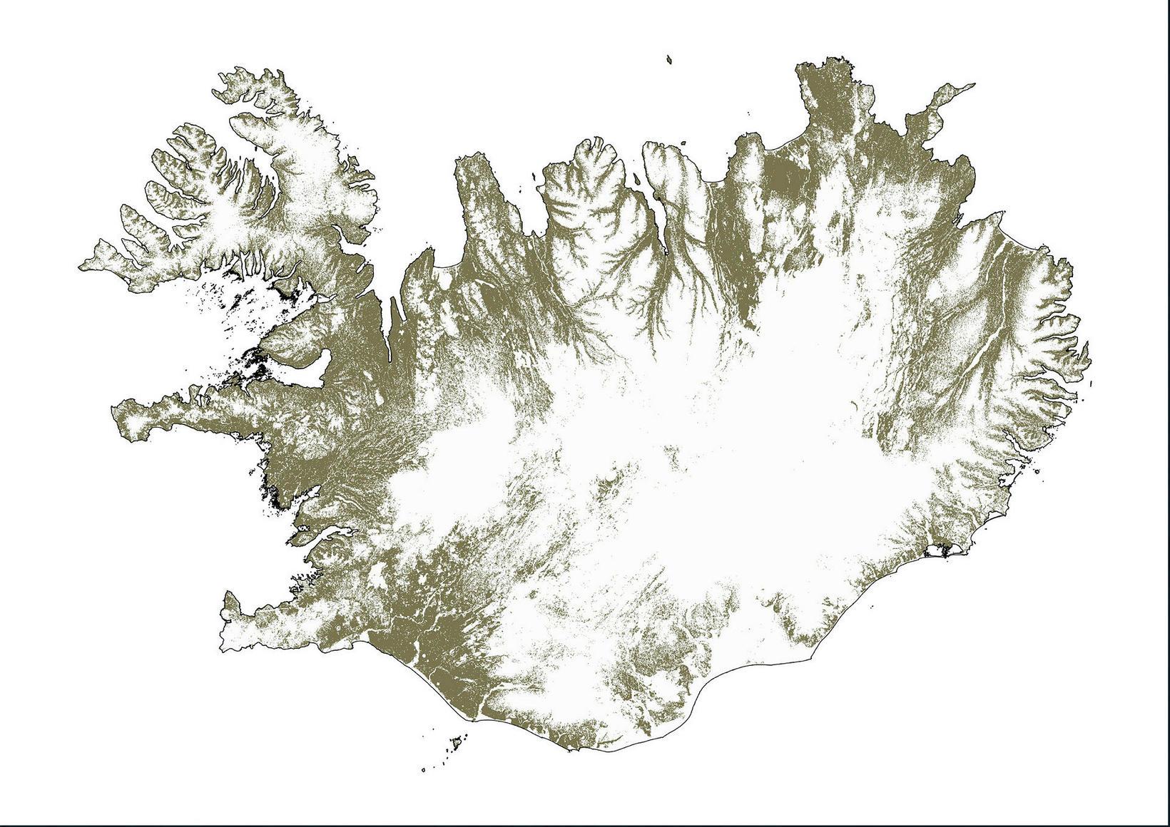 GreenIndX magnfærir hlutfall gróðurs á skilgreindu landsvæði út frá gervitungla …