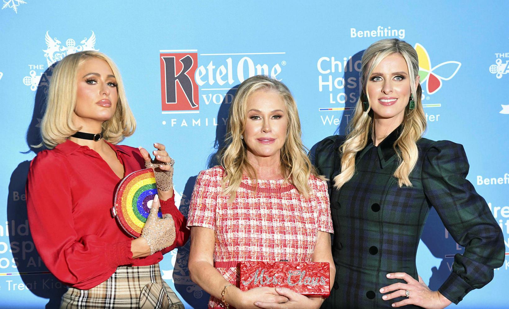 Paris Hilton, Kathy Hilton og Nicky Hilton Rothschild.