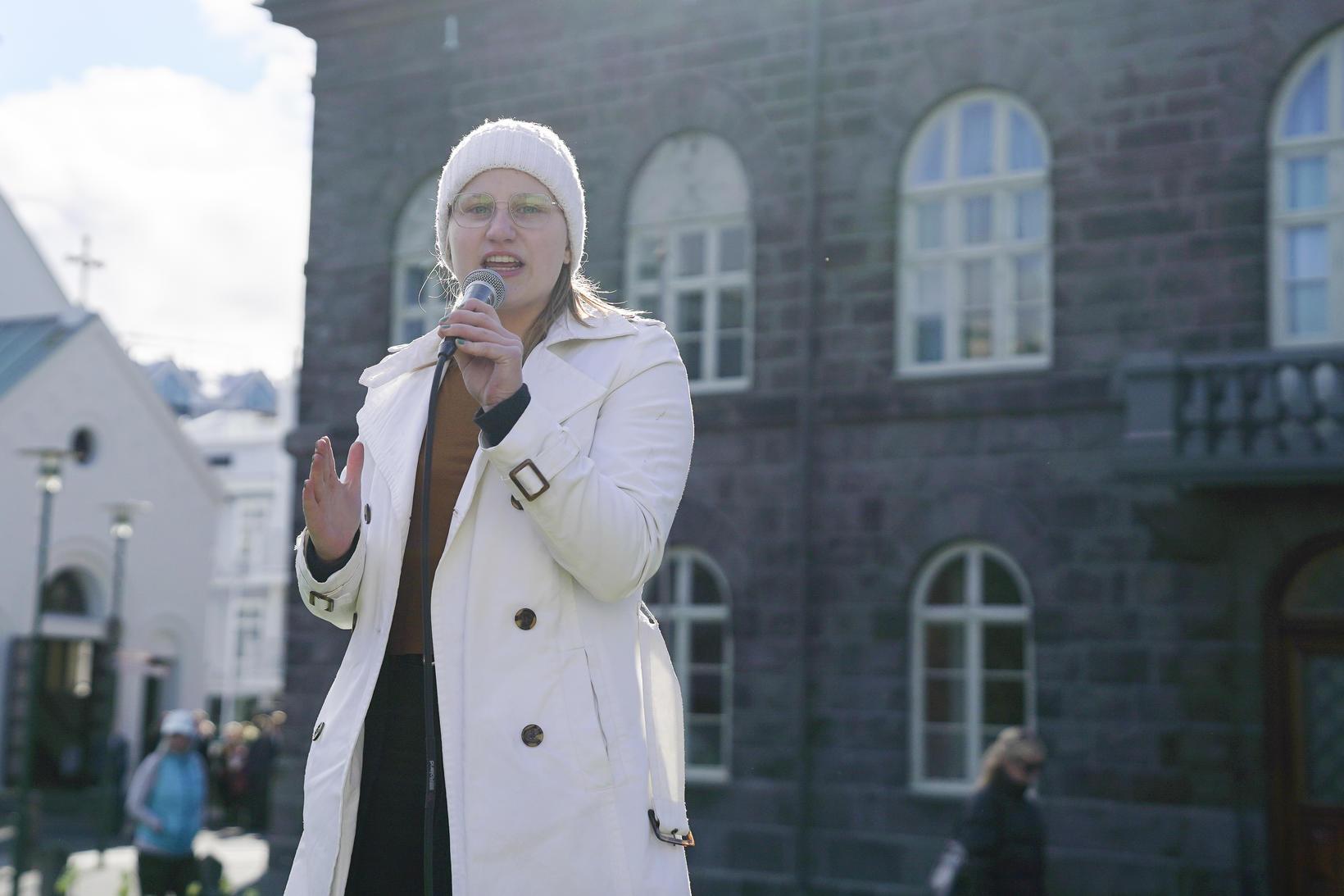 Ásthildur Emilía Þorkelsdóttir.