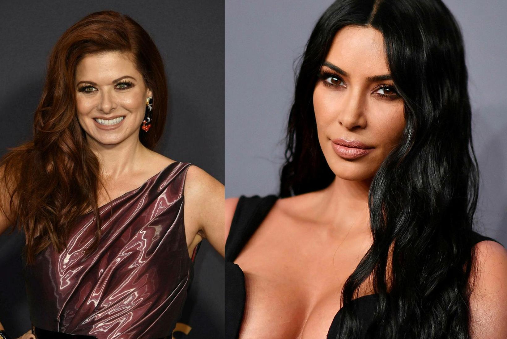 Debra Messing er ekki ánægð að sjá Kim Kardashian sem …