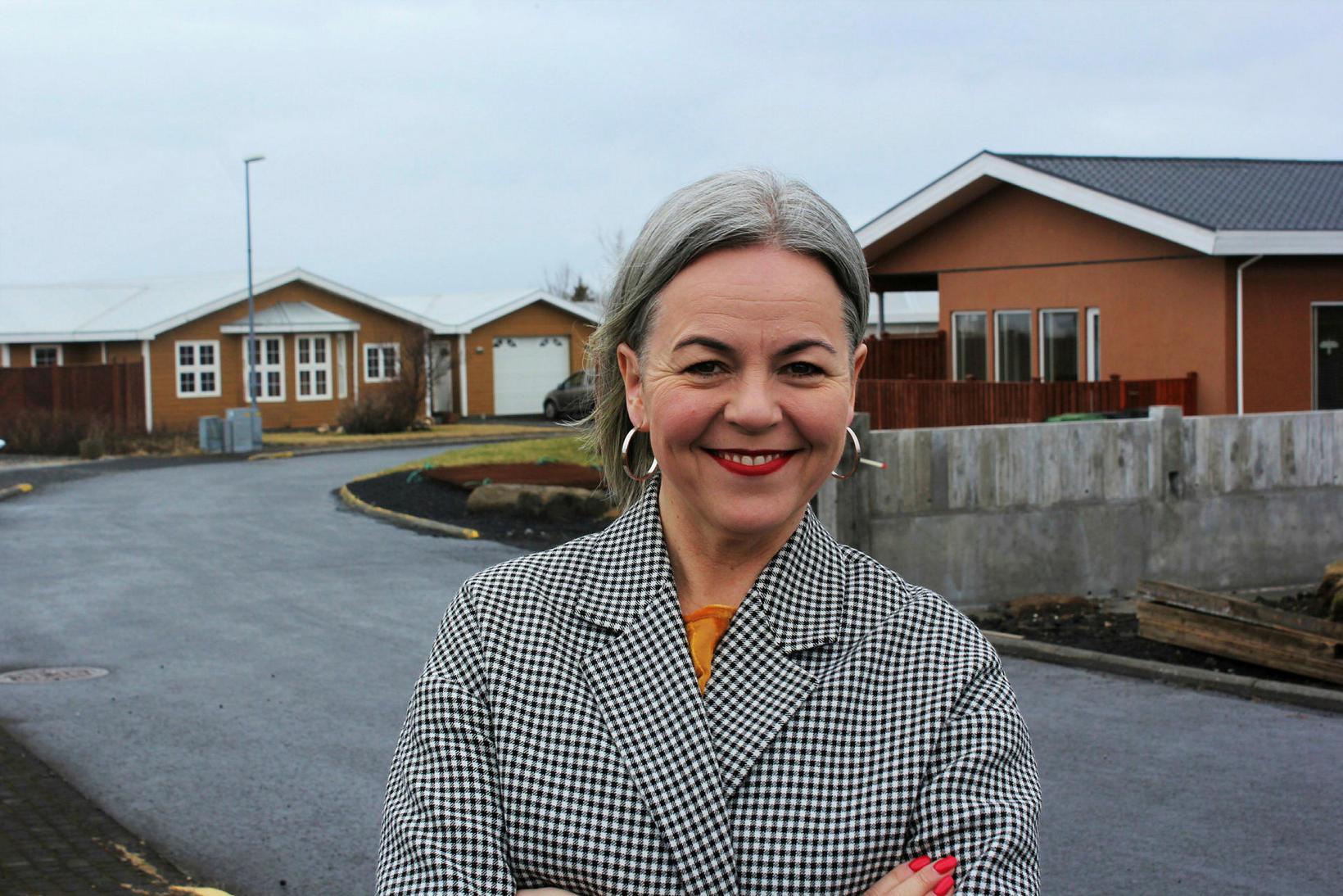 Hólmfríður Árnadóttir er einn af nýliðum VG.