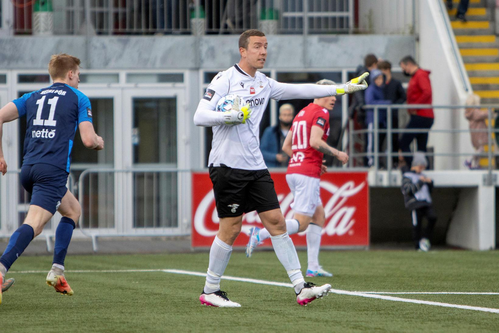 Hannes Þór Halldórsson hefur verið markvörður Vals undanfarin þrjú tímabil.