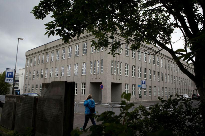 Fjármála- og efnahagsráðuneytið við Lindargötu í Reykjavík.