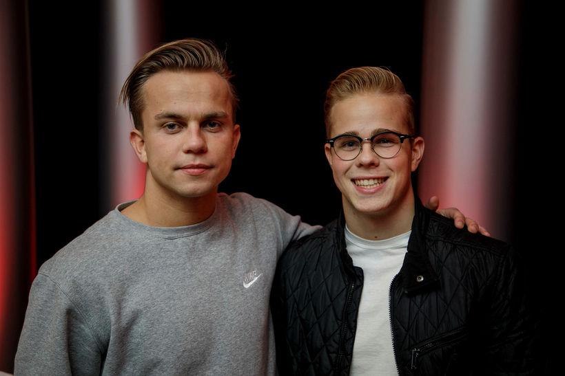 Ólafur Snær Hreiðarsson og Finnur Helgason.