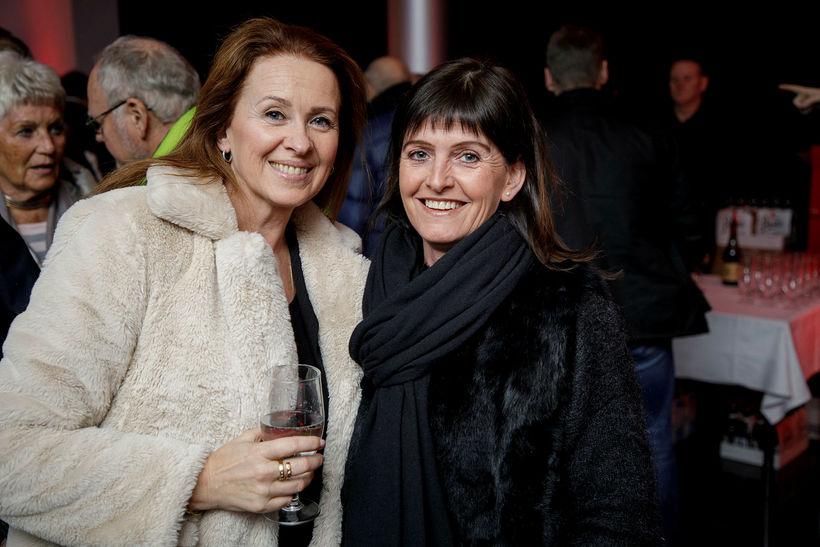 Guðrún Möller og Lilja Þorsteinsdóttir.