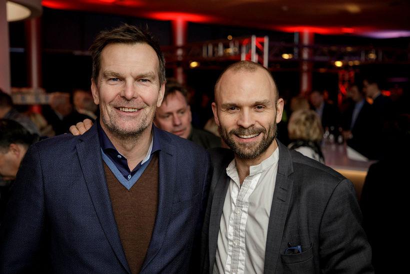 Logi Bergmann og Rúnar Freyr Gíslason.