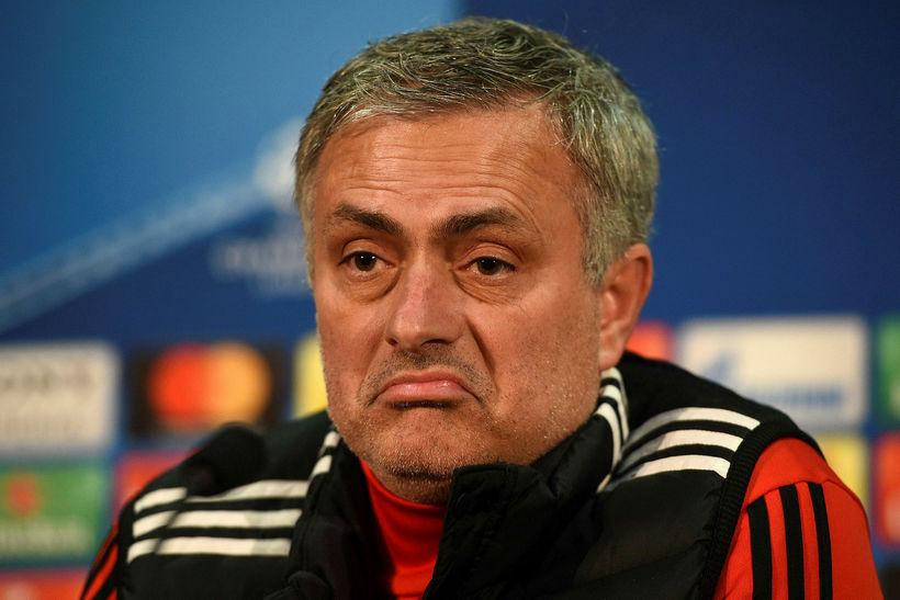 José Mourinho knattspyrnustjóri Manchester United.