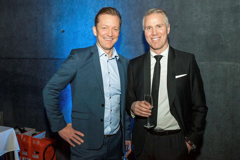Pétur Blöndal og Birgir Örn Birgisson.