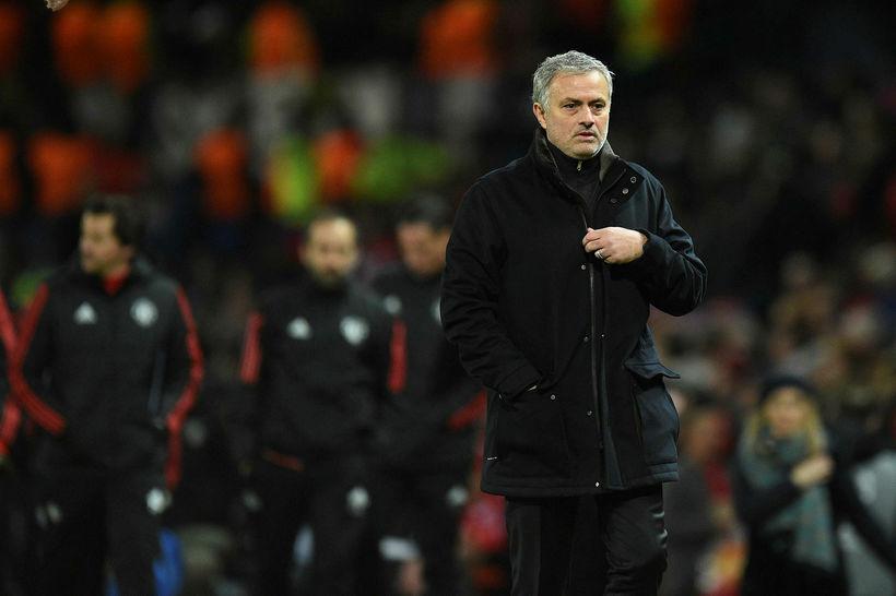 José Mourinho eftir leikinn í kvöld.