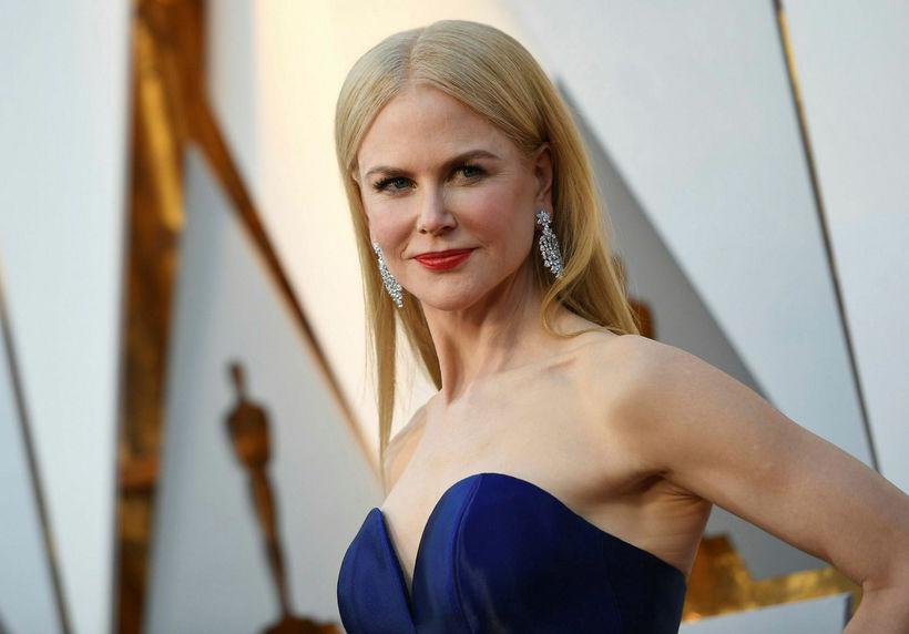 Nicole Kidman segir eldri börn sín tvö vera fullorðin.