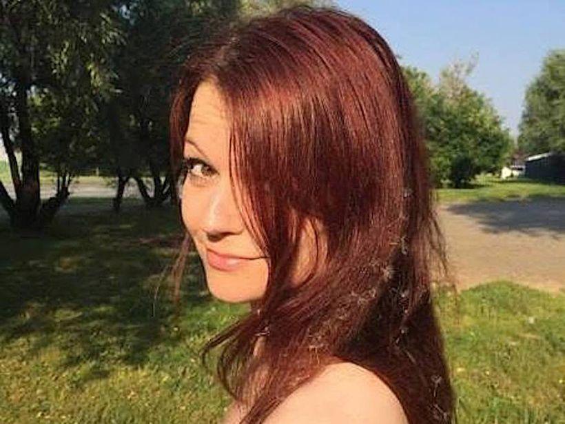 Yulia Skripal er með þessa mynd af sér sem prófíl-mynd ...