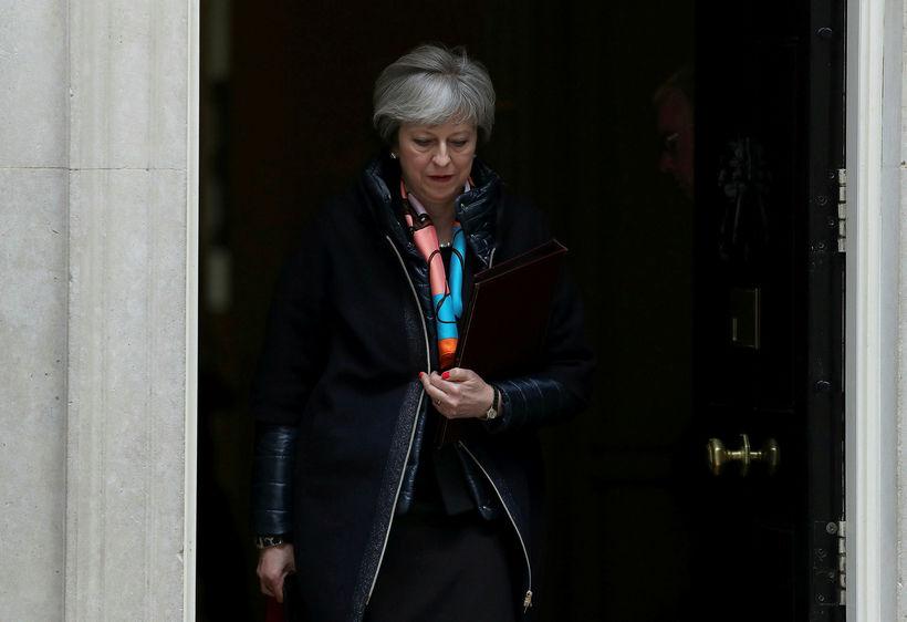 Theresa May forsætisráðherra Bretlands.
