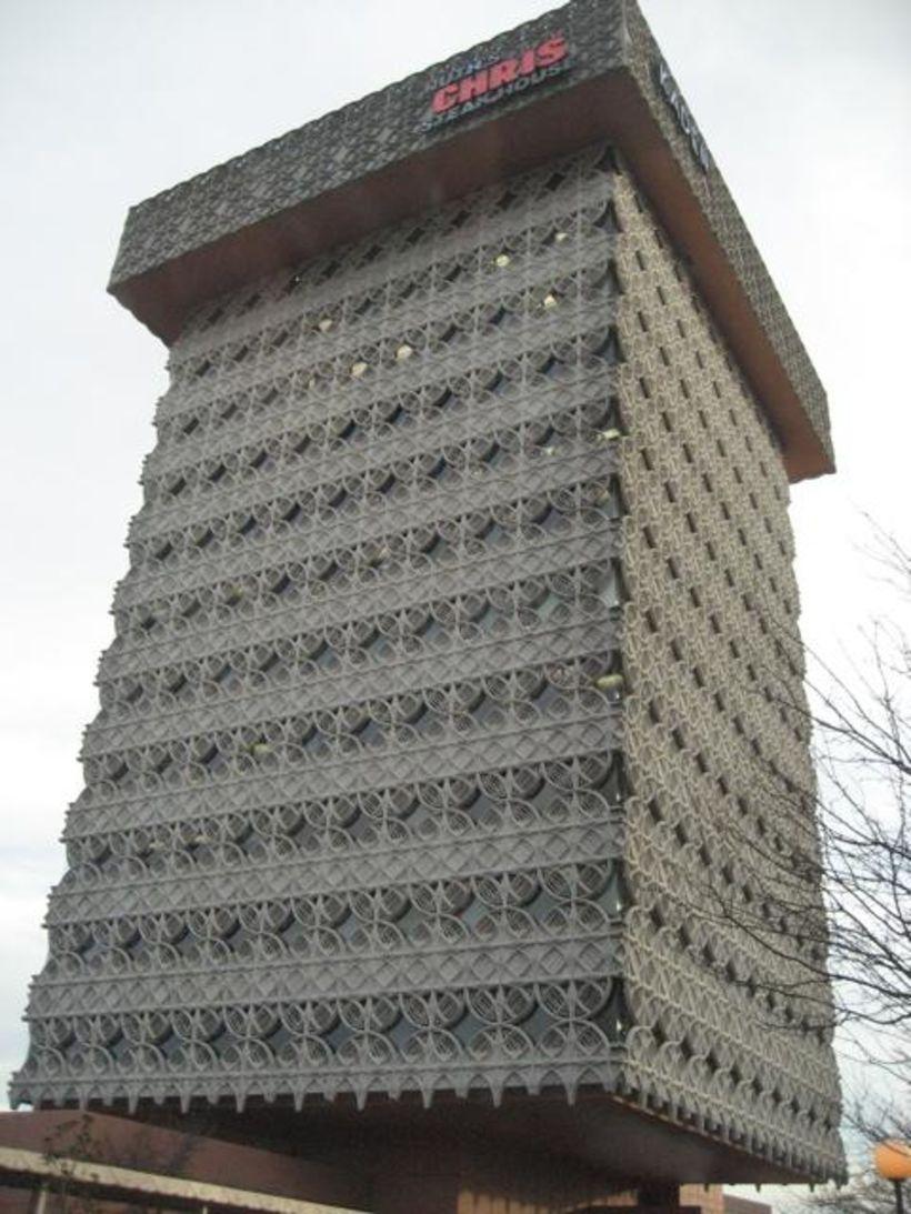 The Kaden Tower í Louisville, Kentucky.