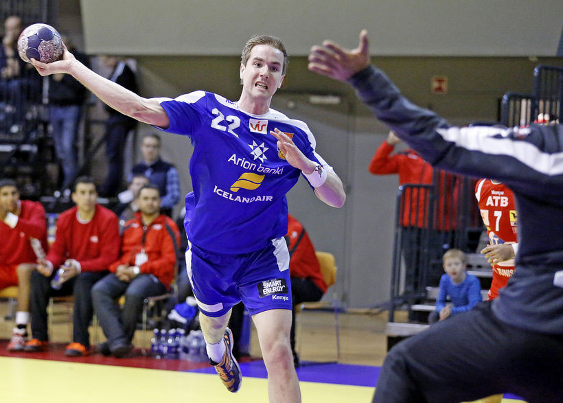 Stefán Rafn Sigurmannsson.