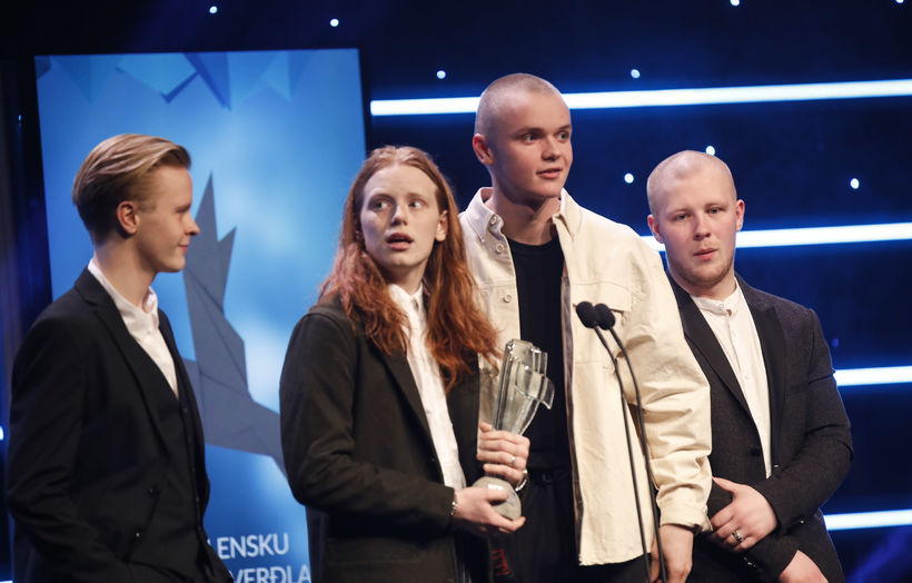 JóiPé og Króli won performer of the year.