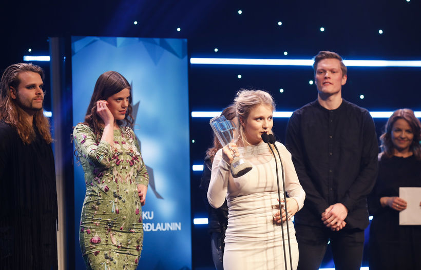 Katrína Mogensen, singer of Mammút won singer of the year ...