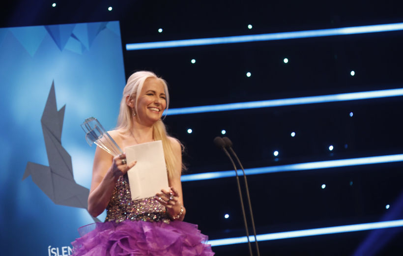 Dísella Lárusdóttir won singer of the year for classical and ...