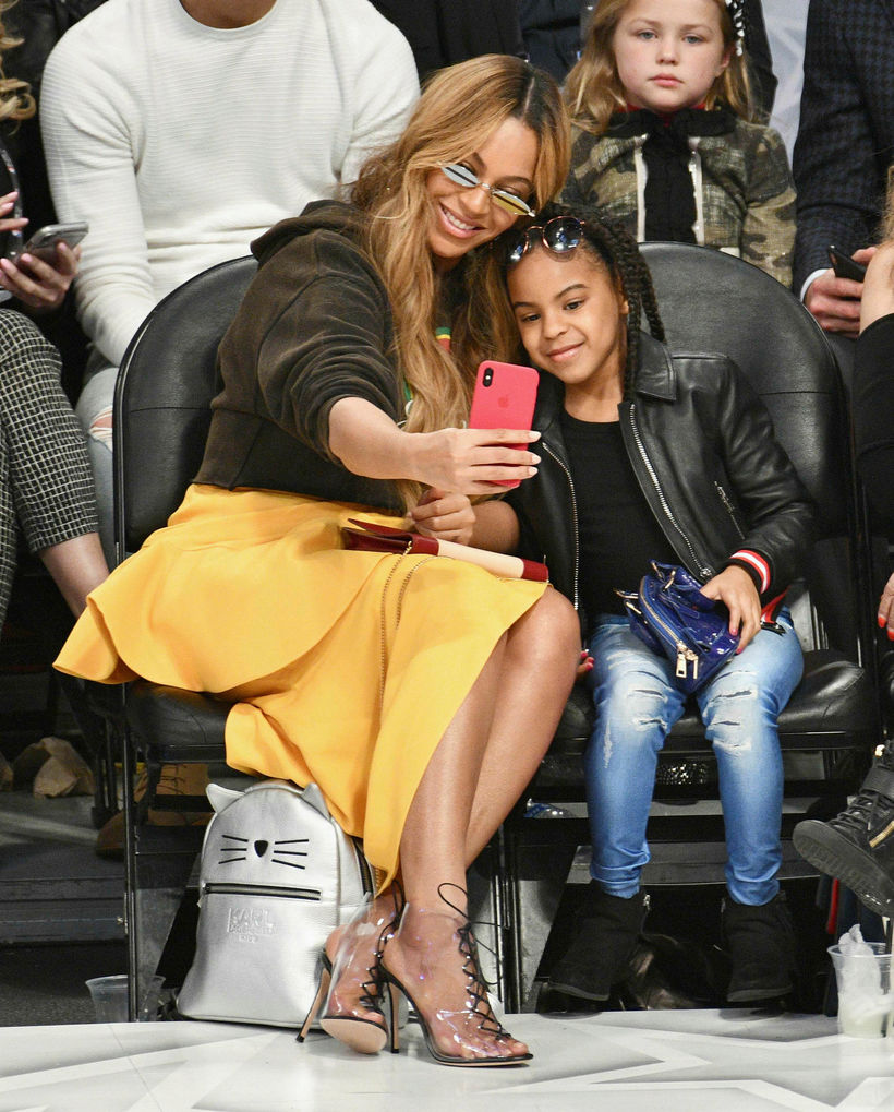 Blue Ivy Carter er elsta barn Beyoncé.