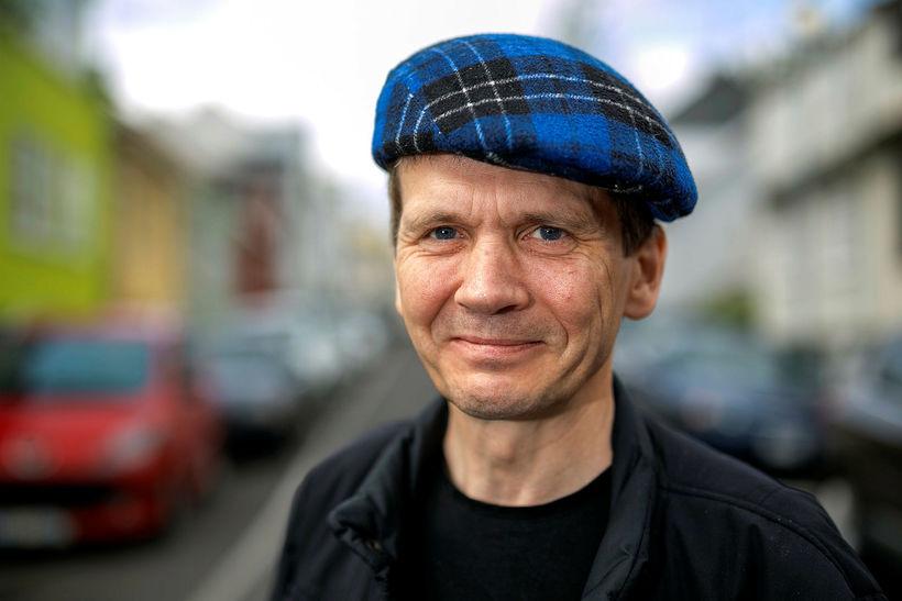 Hrafn Jökulsson forseti Hróksins.