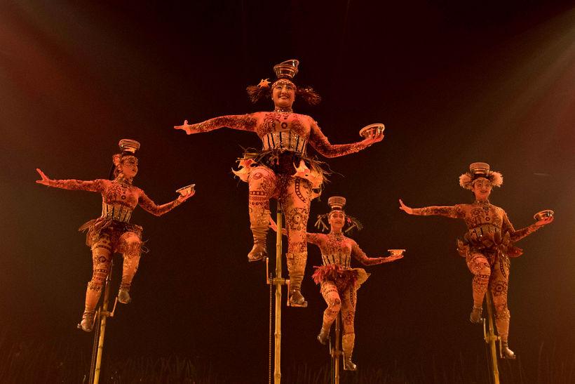 Frá sýningu Cirque du Soleil fyrr á árinu.