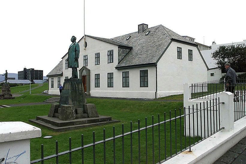 Stjórnarráðshúsið við Lækjartorg