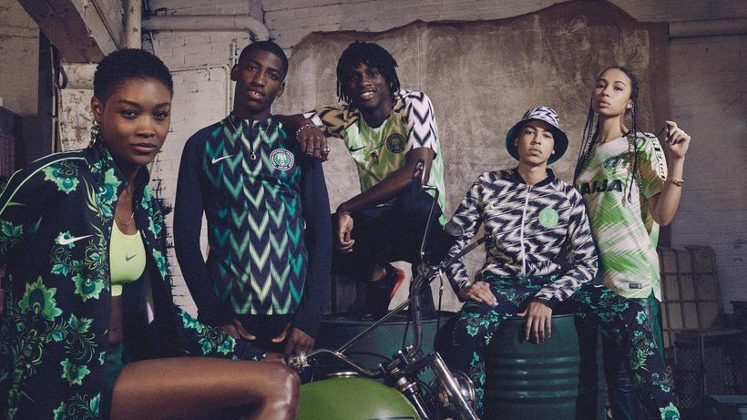 The super hip Nigeria 2018 look by Nike- Naija.