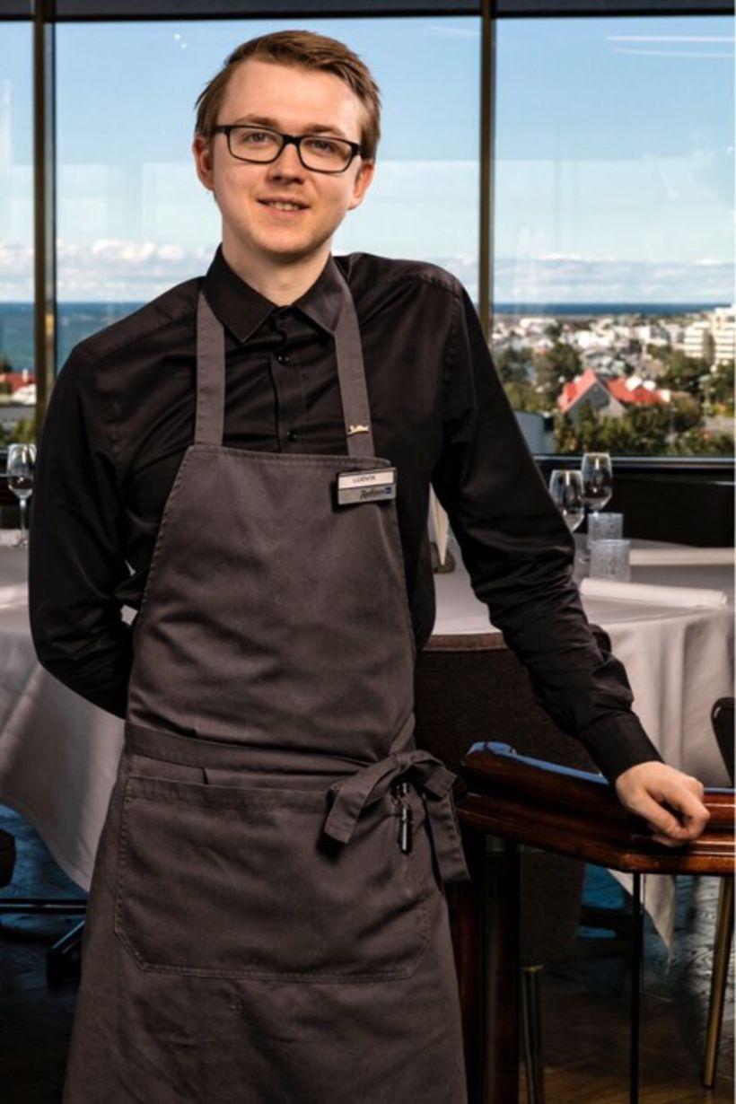 Lúðvík Kristinsson.