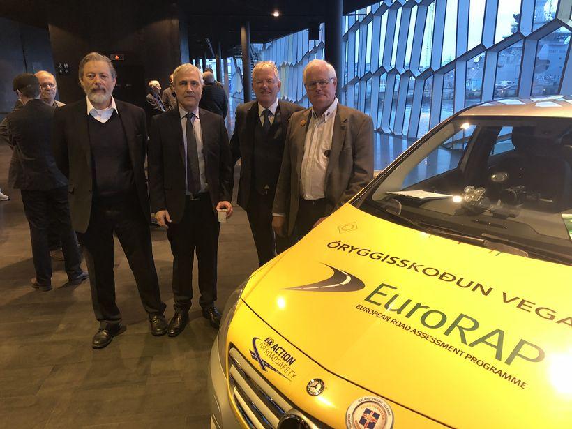 Eiríkur Hreinn Helgason, Runólfur Ólafsson, Steinþór Jónsson og Ólafur Guðmundsson ...