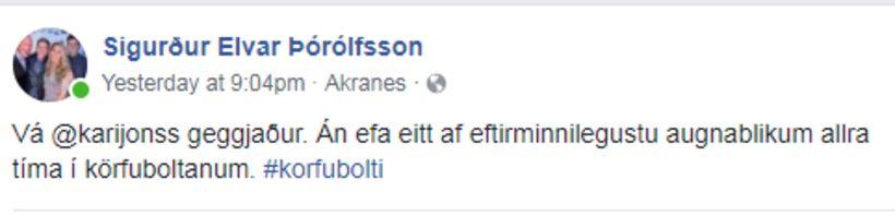 Fyrrverandi formaður Samtaka Íþróttafréttamanna og fv. leikmaður ÍA og Skallagríms ...