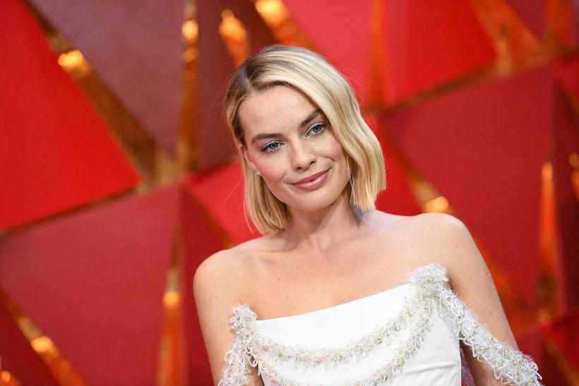 Margot Robbie passar líklega upp á að þarmaflóran sé í ...