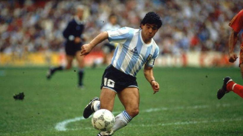 Diego Maradona er af mörgum talinn hafa verið sá allra ...