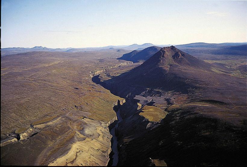 Dimmugljúfur canyon.