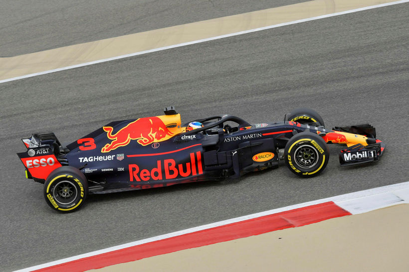 Enginn hafði við Daniel Ricciardo á Red Bull á fyrstu ...